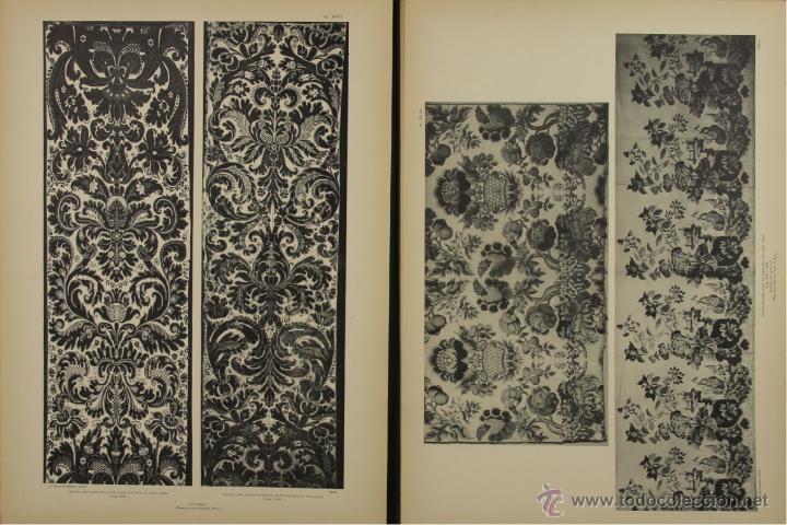 Libros antiguos: 4577. MUSEE DES ARTS DECORATIFS. TISSUS DE LYON. EDIT. CALAVAS. 1908. - Foto 4 - 42321494