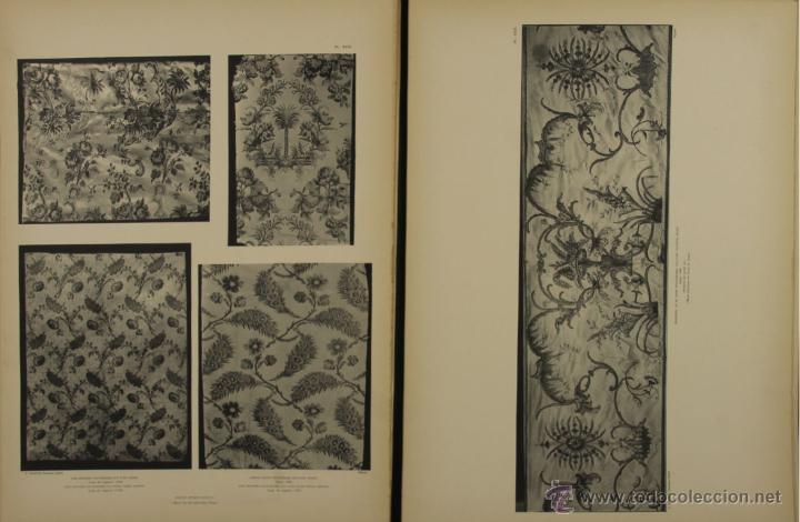 Libros antiguos: 4577. MUSEE DES ARTS DECORATIFS. TISSUS DE LYON. EDIT. CALAVAS. 1908. - Foto 5 - 42321494