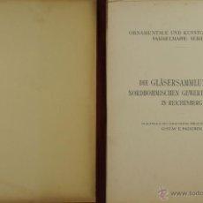 Libros antiguos: 4578. ORNAMENTALE KUNSTGEWERBLICHE SAMMELMAPE. GUSTAV E. PAZAUREK. EDIT. HIERSEMANN 1902.. Lote 42321601