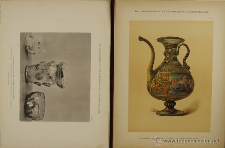 Libros antiguos: 4578. ORNAMENTALE KUNSTGEWERBLICHE SAMMELMAPE. GUSTAV E. PAZAUREK. EDIT. HIERSEMANN 1902. - Foto 3 - 42321601