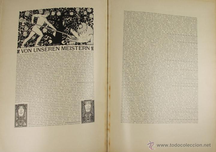 Libros antiguos: 4579. ARCHITEKTONISCHE CHARAKTERBILDER. HERAUSGEGEBEN VON BRUNO. EDIT. CARL EBNER. 1900. - Foto 2 - 42321844