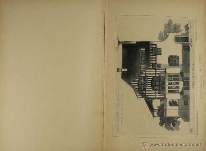 Libros antiguos: 4579. ARCHITEKTONISCHE CHARAKTERBILDER. HERAUSGEGEBEN VON BRUNO. EDIT. CARL EBNER. 1900. - Foto 3 - 42321844