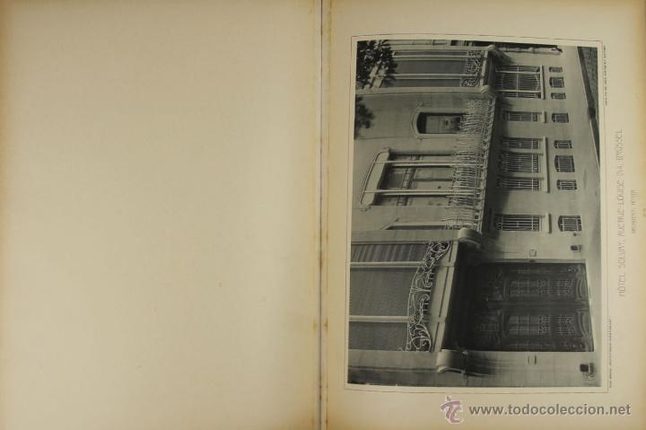Libros antiguos: 4579. ARCHITEKTONISCHE CHARAKTERBILDER. HERAUSGEGEBEN VON BRUNO. EDIT. CARL EBNER. 1900. - Foto 4 - 42321844