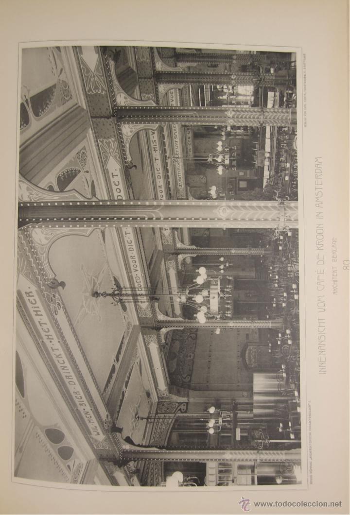 Libros antiguos: 4579. ARCHITEKTONISCHE CHARAKTERBILDER. HERAUSGEGEBEN VON BRUNO. EDIT. CARL EBNER. 1900. - Foto 7 - 42321844