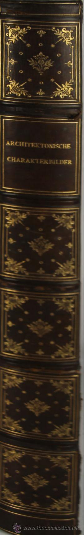 Libros antiguos: 4579. ARCHITEKTONISCHE CHARAKTERBILDER. HERAUSGEGEBEN VON BRUNO. EDIT. CARL EBNER. 1900. - Foto 9 - 42321844