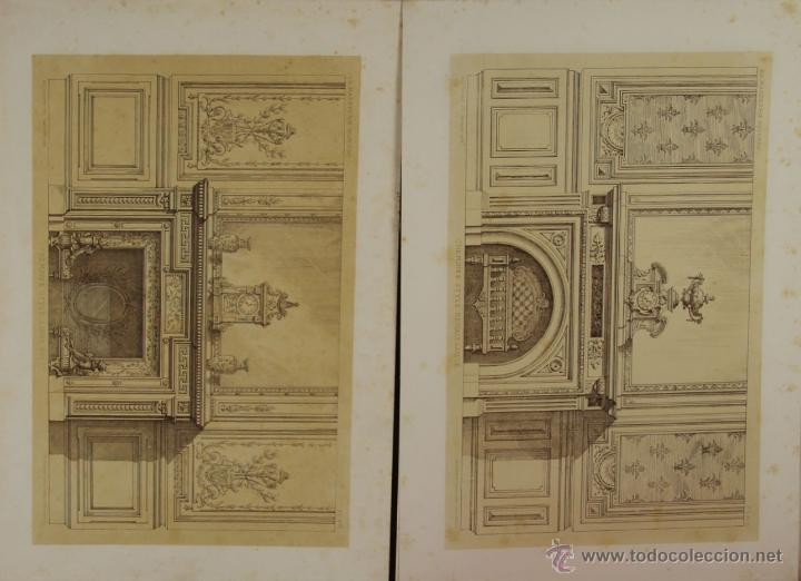 Libros antiguos: 4580- LA MARBRERIE MODERNE. EUG. PRIGNOT. EDIT. CLAESEN. 1880. - Foto 2 - 42322620