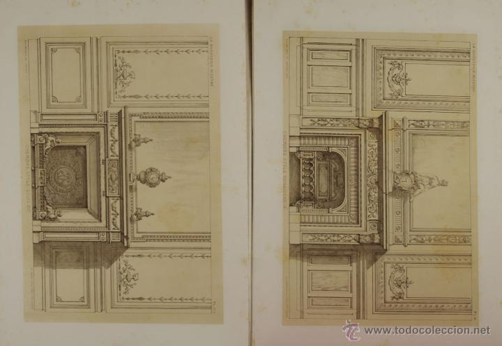 Libros antiguos: 4580- LA MARBRERIE MODERNE. EUG. PRIGNOT. EDIT. CLAESEN. 1880. - Foto 3 - 42322620