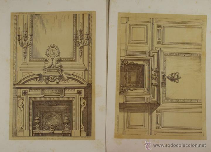 Libros antiguos: 4580- LA MARBRERIE MODERNE. EUG. PRIGNOT. EDIT. CLAESEN. 1880. - Foto 4 - 42322620