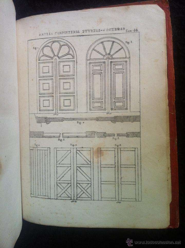 Libros antiguos: EL VIÑOLAS DE LOS PROPIETARIOS- LIBRO DE ARQUITECTURA 1849 - Foto 5 - 42472558