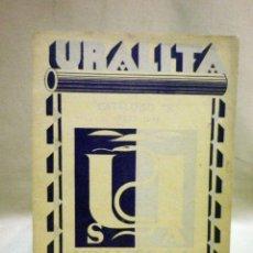 Libros antiguos: LIBRO, URALITA, 45 PAGINAS, 21 X 16 CM, BARCELONA, 1929. Lote 44054994