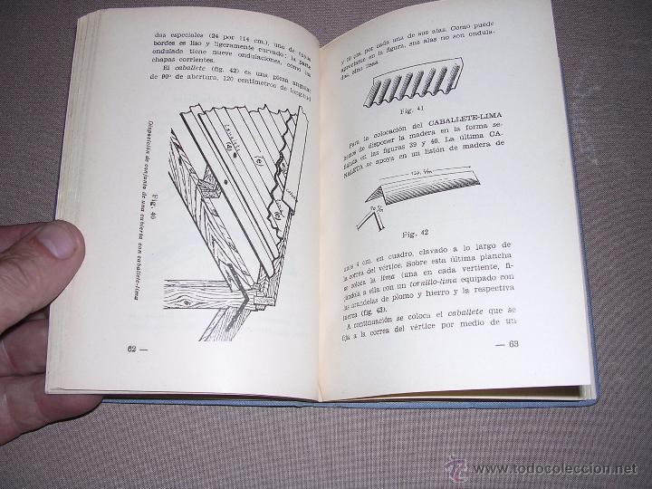Libros antiguos: LA URALITA EN LOS EDIFICIOS CARTILLA DEL COLOCADOR DE URALITA POR ANTONIO MARTINEZ SALVATELLA 1935 - Foto 3 - 44155610