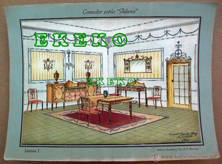 Laminas de decoraci n interiores de varios est comprar - Libros de decoracion de interiores ...