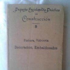 Libros antiguos: CALEFACCIÓN,FUMISTERIA VENTILACIÓN ALUMBRADO Y ELECTRICIDAD, 9- PEQUEÑA ENCICLOPEDÍA PRÁCTICA-1910-. Lote 45197610