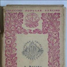 Libros antiguos: LIBRO EN CATALÁN - RESUM D'HISTORIA DEL CATALANISME, Nº 125 - A ROVIRA I VIRGILI - EDITORIAL BARCINO. Lote 45513390