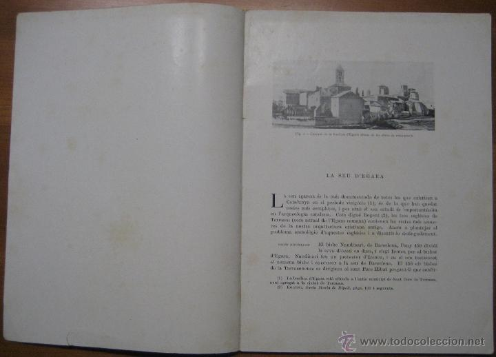 Libros antiguos: LA SEU VISIGÒTICA D'EGARA - Foto 2 - 45694137