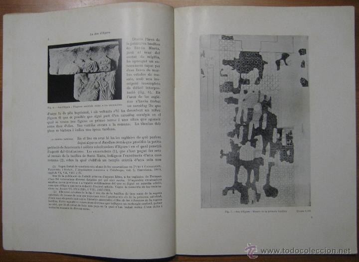 Libros antiguos: LA SEU VISIGÒTICA D'EGARA - Foto 3 - 45694137