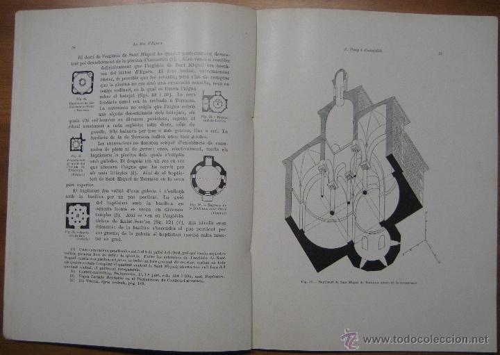 Libros antiguos: LA SEU VISIGÒTICA D'EGARA - Foto 5 - 45694137