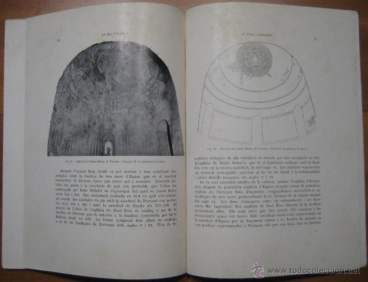 Libros antiguos: LA SEU VISIGÒTICA D'EGARA - Foto 8 - 45694137