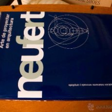 Libros antiguos: ARTE DE PROYECTAR EN ARQUITECTURA - ERNST NEUFERT - ED. GUSTAVO GILI.. Lote 46017102