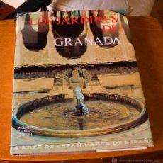 Libros antiguos: LOS JARDINES DE GRANADA - FCO. PRIETO MORENO - PATRONATO NACIONAL DE MUSEOS.. Lote 46183816