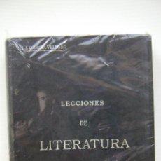 Libros antiguos: LECCIONES DE LITERATURA ESPAÑOLA Y ARGENTINA I JUAN JOSE GARCIA VELLOSO. Lote 46563621
