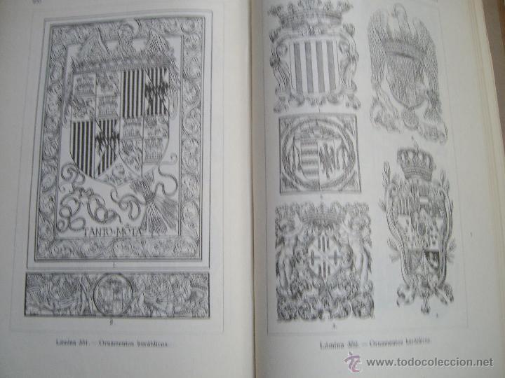 Libros antiguos: MANUAL DE ORNAMENTACION - Foto 7 - 36160037