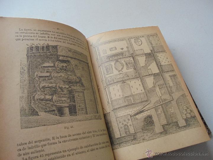 Libros antiguos: Un volumen con 4 tomos( 9, 10, 11, 12) de : Pequeña Enciclopedia práctica de Construcción-S/F - Foto 7 - 47546456