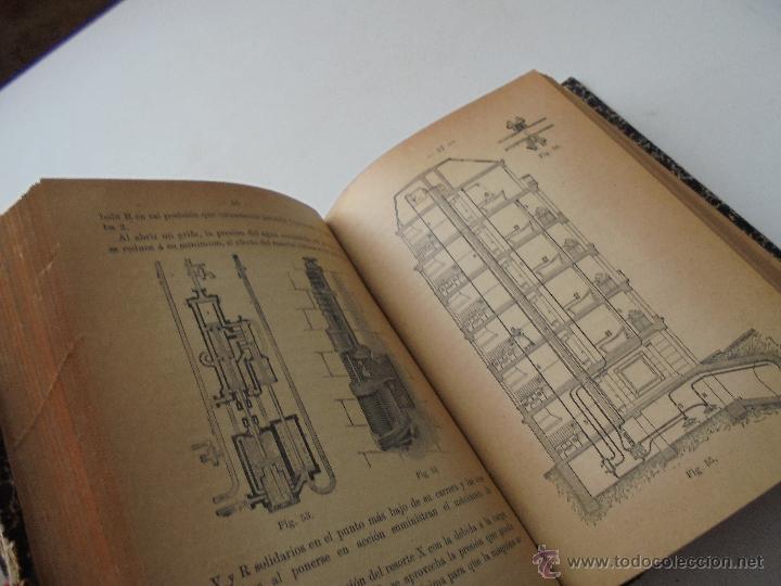 Libros antiguos: Un volumen con 4 tomos( 9, 10, 11, 12) de : Pequeña Enciclopedia práctica de Construcción-S/F - Foto 8 - 47546456
