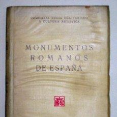Libros antiguos: MÉLIDA. MONUMENTOS ROMANOS DE ESPAÑA. 1925. Lote 48563687