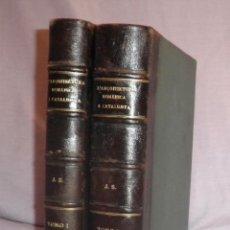 Libros antiguos: L´ARQUITECTURA ROMANICA A CATALUNYA - 1ª EDICIÓ ANY 1909 - J.PUIG Y CADAFALCH - MUY ILUSTRADOS.. Lote 49016680