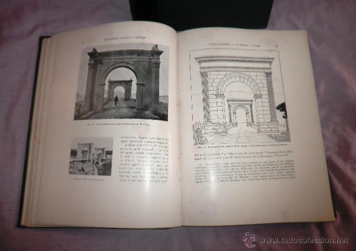 Libros antiguos: L´ARQUITECTURA ROMANICA A CATALUNYA - 1ª EDICIÓ ANY 1909 - J.PUIG Y CADAFALCH - MUY ILUSTRADOS. - Foto 4 - 49016680