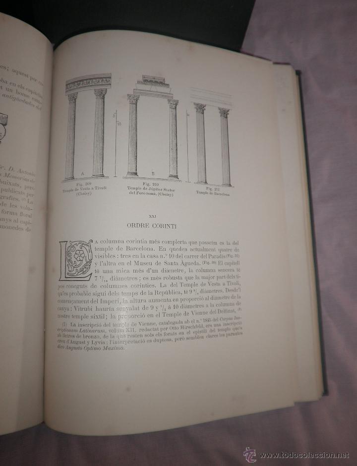 Libros antiguos: L´ARQUITECTURA ROMANICA A CATALUNYA - 1ª EDICIÓ ANY 1909 - J.PUIG Y CADAFALCH - MUY ILUSTRADOS. - Foto 7 - 49016680