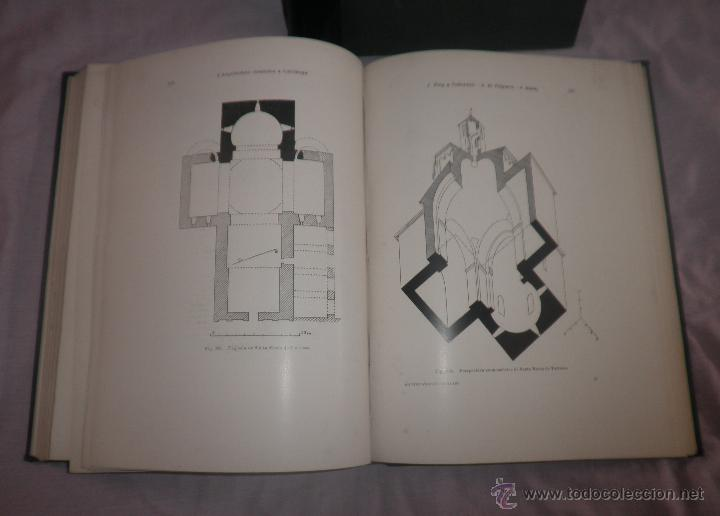 Libros antiguos: L´ARQUITECTURA ROMANICA A CATALUNYA - 1ª EDICIÓ ANY 1909 - J.PUIG Y CADAFALCH - MUY ILUSTRADOS. - Foto 9 - 49016680