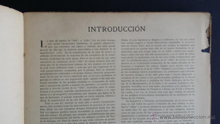 Libros antiguos: Villas y chalets, Víctor de Falgás. 1920. - Foto 5 - 49030474