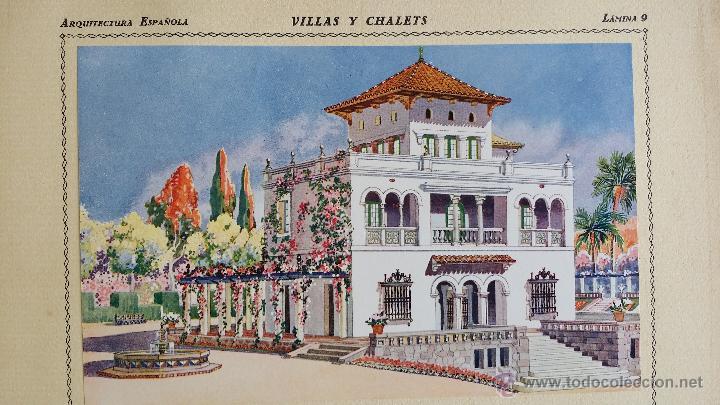 Libros antiguos: Villas y chalets, Víctor de Falgás. 1920. - Foto 9 - 49030474