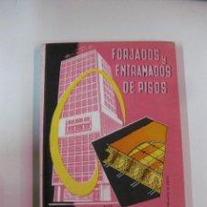 Libros antiguos: FORJADOS Y ENTRAMADOS DE PISOS. FEDERICO ULSAMER. MONOGRAFIAS CEAC CONSTRUCCION Y ARQUITECTURA.1963. Lote 49123936