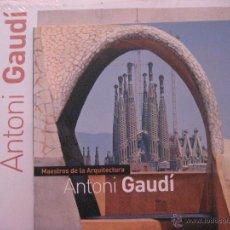 Libros antiguos: ANTONI GAUDI,MAESTROS DE LA ARQUITECTURA (COLECCION SALVAT-2011). Lote 49364034