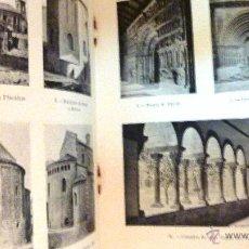 Libros antiguos: L'ARQUITECTURA ROMANICA A CATALUNYA . PUIG I CADAFALCH MINERVA VOLUM XXXLLL 1920 . FOTOS 47 PÁG. Lote 49404575