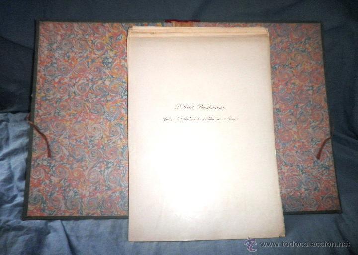 Libros antiguos: EL HOTEL BEAUHARNAIS - AÑO 1912 - PORTFOLIO MONUMENTAL - FOTOGRAFIAS DE EPOCA. - Foto 2 - 49574262
