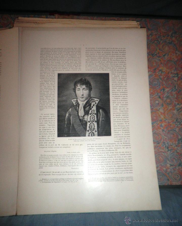 Libros antiguos: EL HOTEL BEAUHARNAIS - AÑO 1912 - PORTFOLIO MONUMENTAL - FOTOGRAFIAS DE EPOCA. - Foto 6 - 49574262