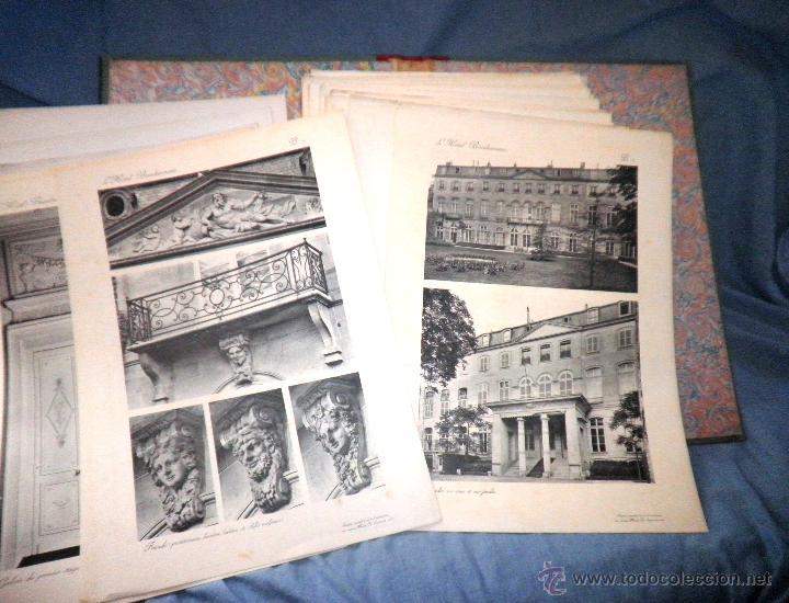 Libros antiguos: EL HOTEL BEAUHARNAIS - AÑO 1912 - PORTFOLIO MONUMENTAL - FOTOGRAFIAS DE EPOCA. - Foto 9 - 49574262