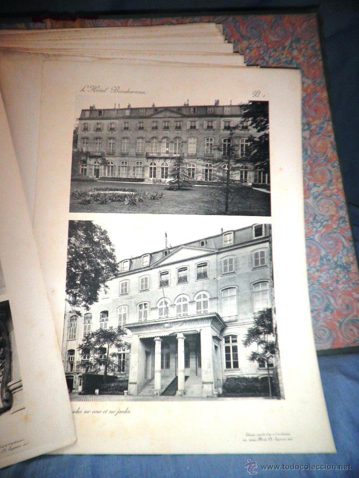 Libros antiguos: EL HOTEL BEAUHARNAIS - AÑO 1912 - PORTFOLIO MONUMENTAL - FOTOGRAFIAS DE EPOCA. - Foto 10 - 49574262