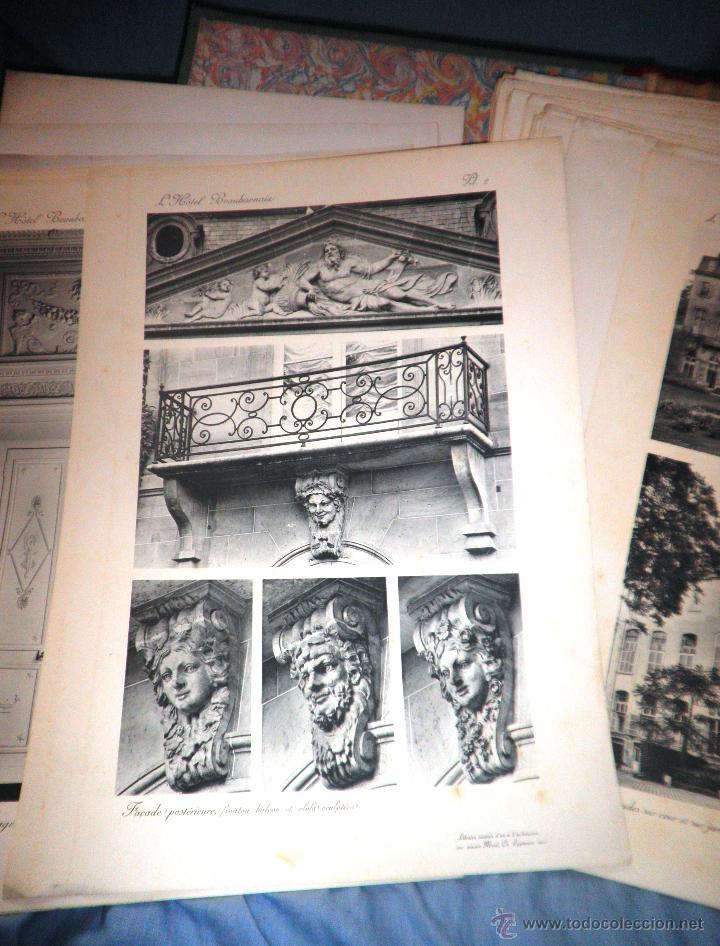 Libros antiguos: EL HOTEL BEAUHARNAIS - AÑO 1912 - PORTFOLIO MONUMENTAL - FOTOGRAFIAS DE EPOCA. - Foto 11 - 49574262