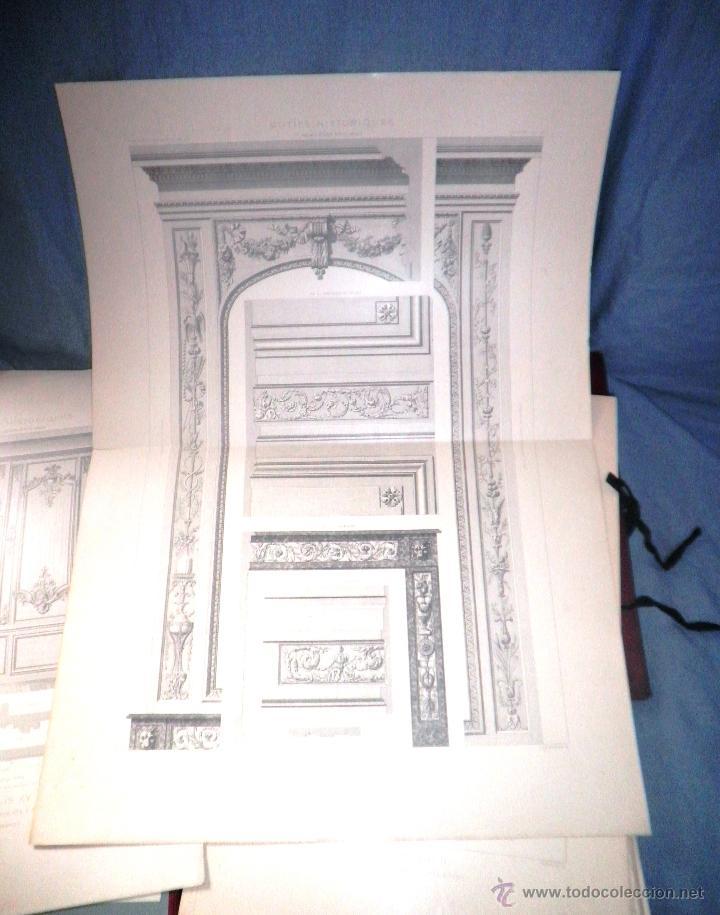 Libros antiguos: MOTIVOS HISTORICOS DE ARQUITECTURA Y ESCULTURA - AÑO 1912 - C.DALY - CARPETAS CON LAMINAS. - Foto 5 - 49687035