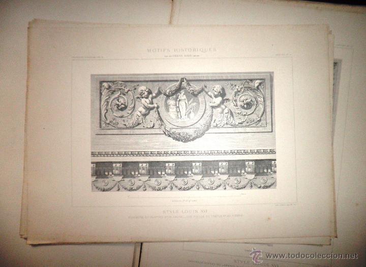 Libros antiguos: MOTIVOS HISTORICOS DE ARQUITECTURA Y ESCULTURA - AÑO 1912 - C.DALY - CARPETAS CON LAMINAS. - Foto 7 - 49687035