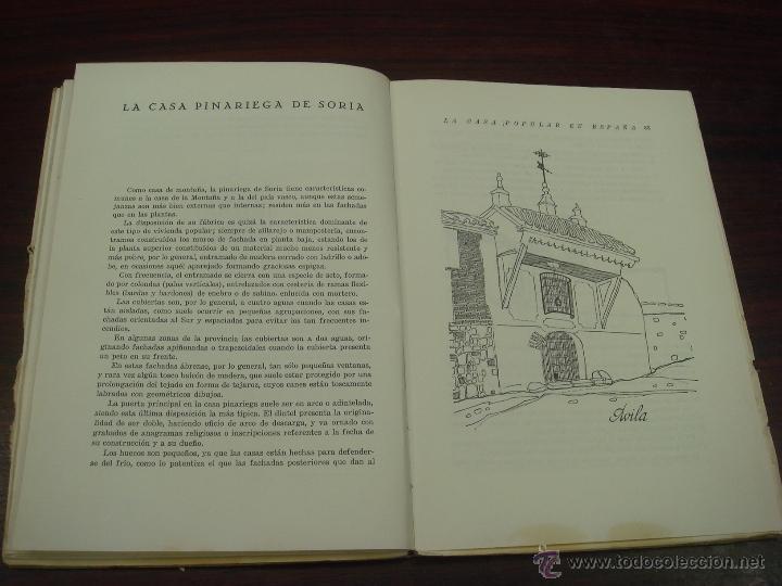 Libros antiguos: LA CASA POPULAR EN ESPAÑA. 1930. 1ª Edicion. Fernando Garcia Mercadal - Foto 8 - 32111767