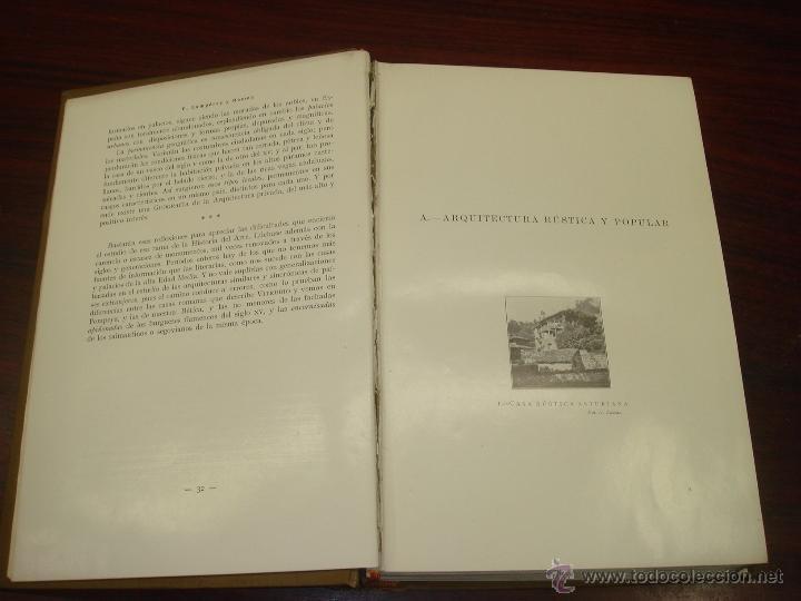 Libros antiguos: ARQUITECTURA CIVIL ESPAÑOLA DE LOS SIGLOS I AL XVIII. 1922. 2 TOMOS. VICENTE LAMPEREZ Y ROMEA - Foto 4 - 32169008