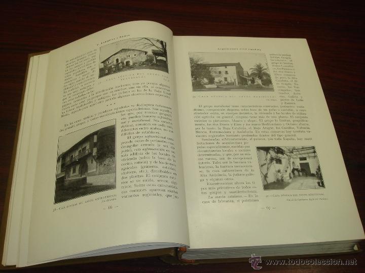 Libros antiguos: ARQUITECTURA CIVIL ESPAÑOLA DE LOS SIGLOS I AL XVIII. 1922. 2 TOMOS. VICENTE LAMPEREZ Y ROMEA - Foto 5 - 32169008