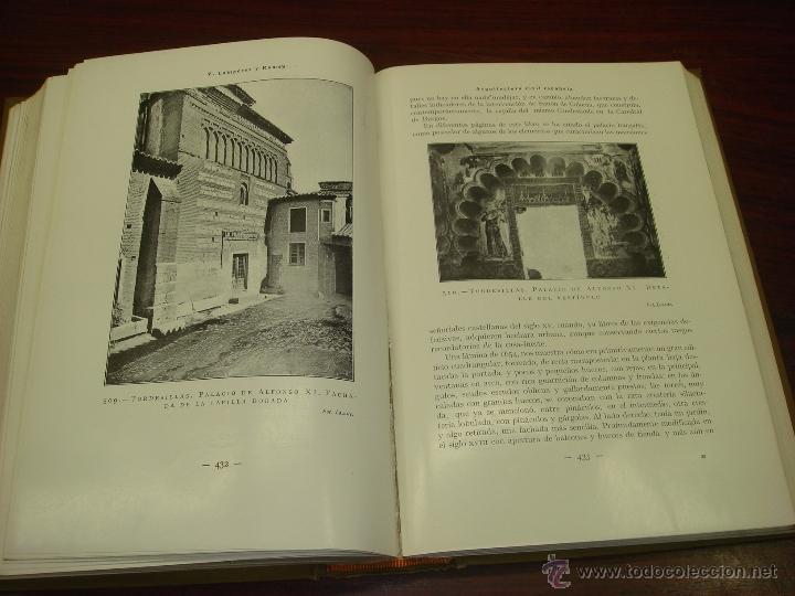 Libros antiguos: ARQUITECTURA CIVIL ESPAÑOLA DE LOS SIGLOS I AL XVIII. 1922. 2 TOMOS. VICENTE LAMPEREZ Y ROMEA - Foto 7 - 32169008