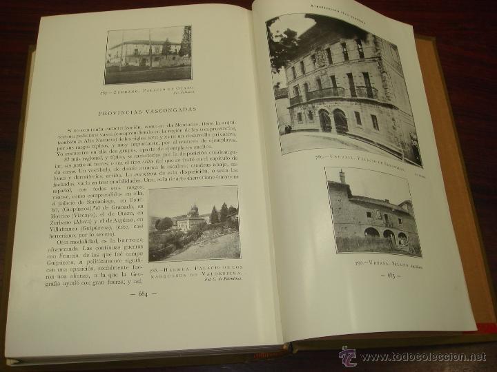 Libros antiguos: ARQUITECTURA CIVIL ESPAÑOLA DE LOS SIGLOS I AL XVIII. 1922. 2 TOMOS. VICENTE LAMPEREZ Y ROMEA - Foto 10 - 32169008